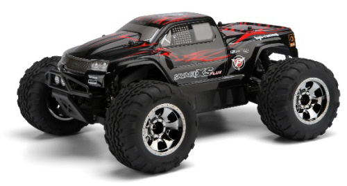 HPI 105274 GT-2XS Painted Body Red//Black//Gray Savage XS Flux