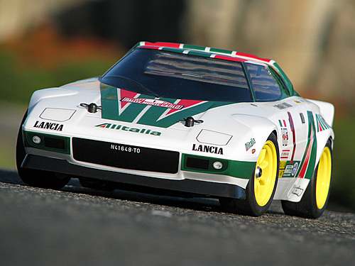Hpi 7214 1 10 Mini Body Lancia Stratos Hf Clear Body