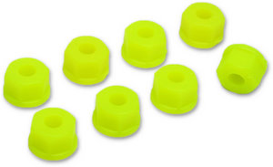 RPM 70847 - 8-32 or 4mm Nylon Nuts  * Neon Yellow