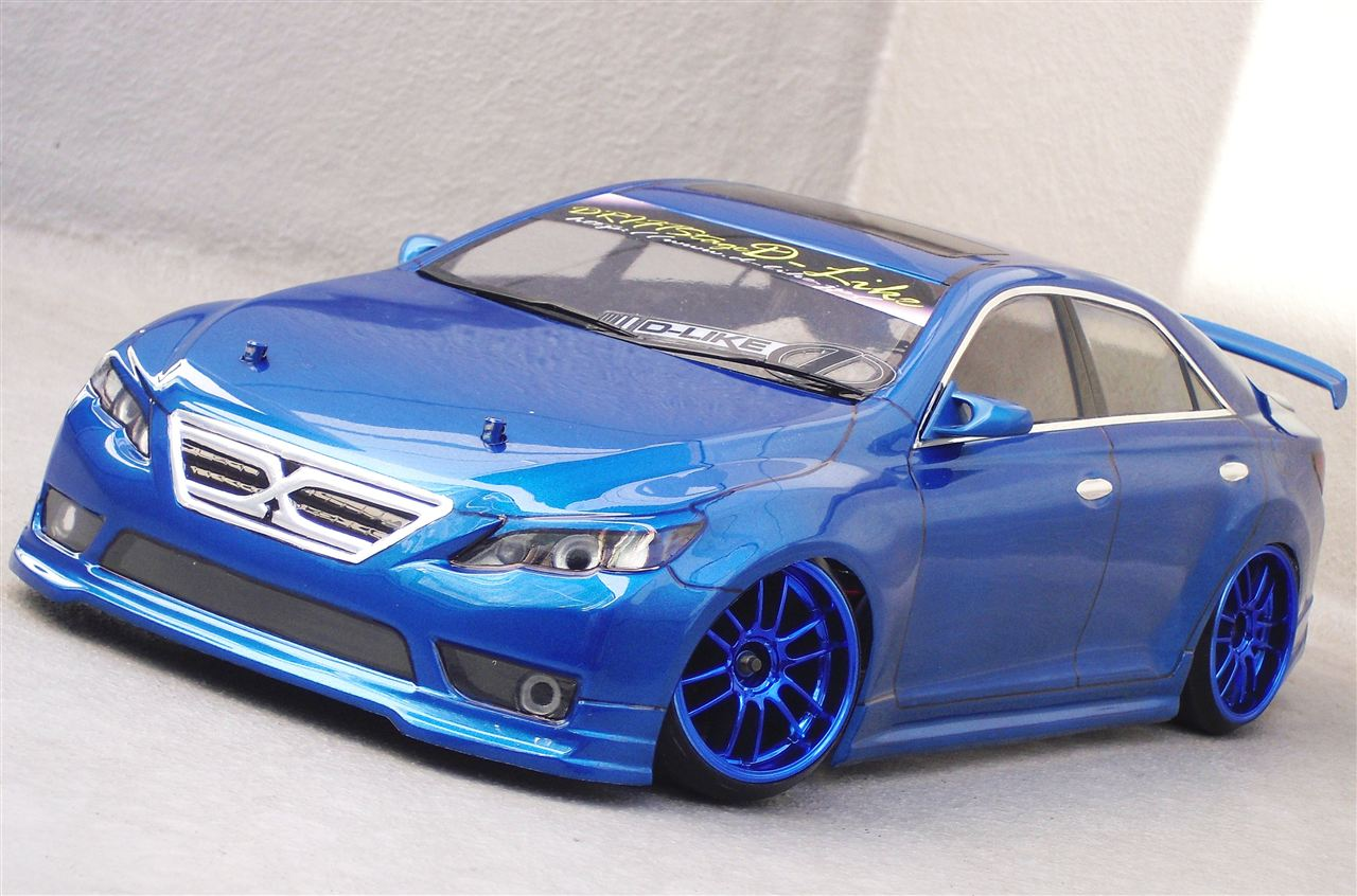 D-Like DL093 - 195mm Toyota Mark X , GRX130 Clear Body