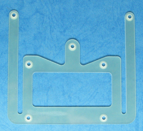 Fusion FRF011H - FRF011 Rear Suspension Plate, Hard