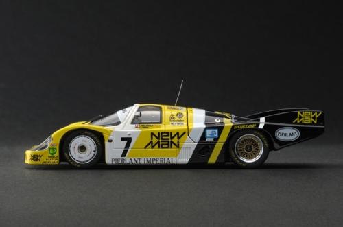 HPI 939 - HPI 1:43 Die Cast Porsche 956 LH (#7) 1984 Le Mans Winner