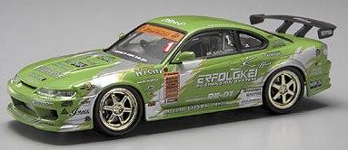 Aoshima 74459 - 1:43 Diecast D1 Grand Prix Memorials - #3 KEI Office S15 Silvia 2003
