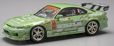 Aoshima 74466 - 1:43 Diecast D1 Grand Prix Memorials - #4 KEI Office S15 Silvia 2004