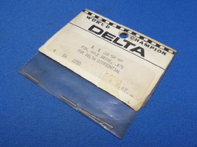 Delta 11399 - Pin, Axle Drive, .078, for Delta Differential (Vintage Delta 1:12)