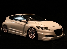 Shun Sh001 - Mugen CR-Z Clear Body (Wheelbase 225mm)