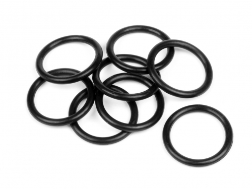Hot Bodies 61498 - O-Ring  AS568-014 (1.8x12.4mm/Black/8pcs) (Cyclone D4)