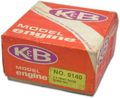 K&B 9140 - 6.5 Front Rotor with Mini Pipe
