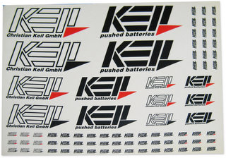 Keil 1100-R - Decal Sheet Red