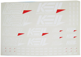 Keil 1100-W - Decal Sheet White