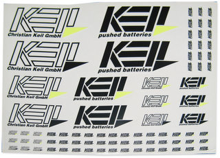 Keil 1100-Y - Decal Sheet Yellow