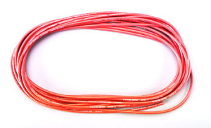Deans 1430 - 12 Gauge Wet Noodle Red 25 ft.