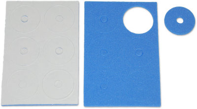 Jet Racing JE-53B - Adhesive Body Protective Foam Blue