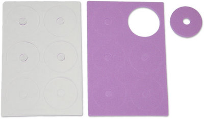 Jet Racing JE-53P - Adhesive Body Protective Foam Purple