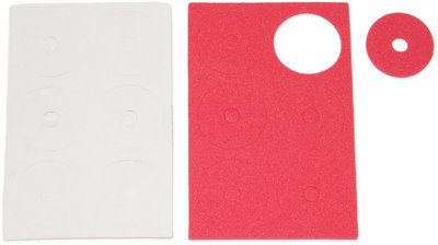 Jet Racing JE-53R - Adhesive Body Protective Foam Red