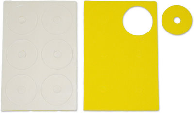 Jet Racing JE-53Y - Adhesive Body Protective Foam Yellow