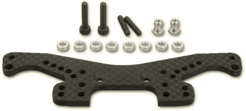 Five Stars FS-5012 - Carbon Rear Damper Stay (Kyosho FW05)