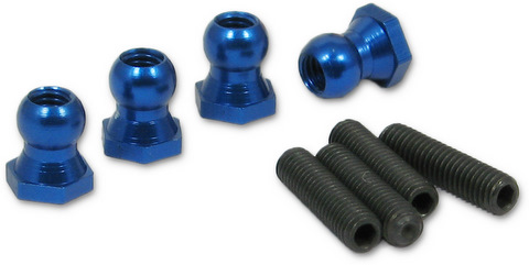 Five Stars FS-5013 - 4.8mm Damper Ball (Kyosho FW05)