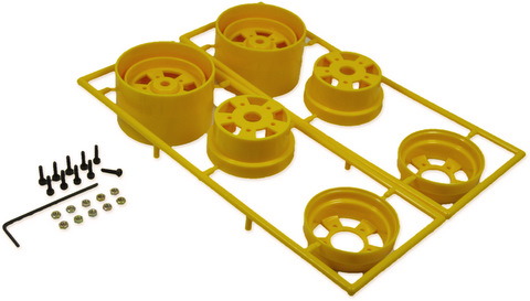 You-G UR-20 -  Rear wheel (Tamiya)