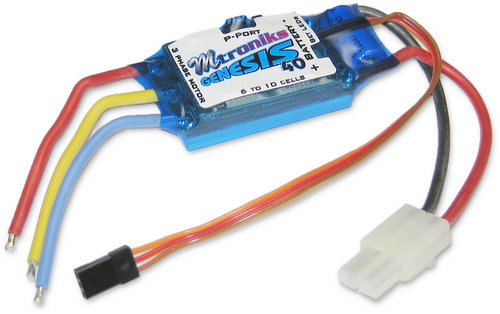 Mtroniks Genesis 40 - 40A Brushless ESC for Air