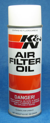 K&N 0504 - Air Filter Oil, Spray Type