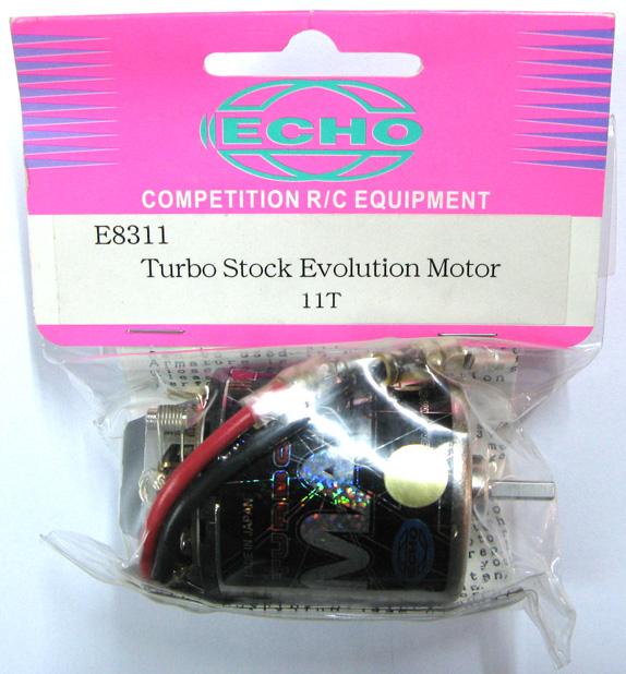 Echo E8311 - Turbo Stock Evolution Motor 11T