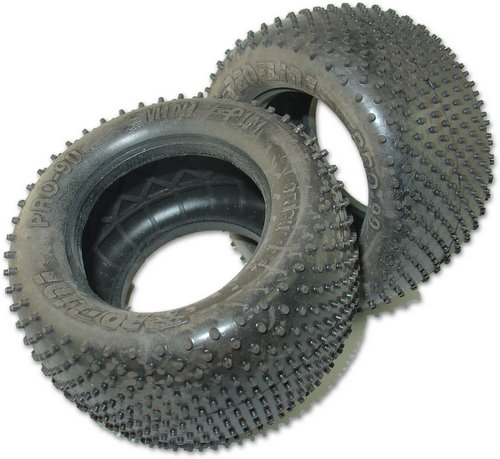 Proline 8090M3 - Originals Mini-Pin Truck Tire M3 Compound (2.2 Rear Truck Wheel)