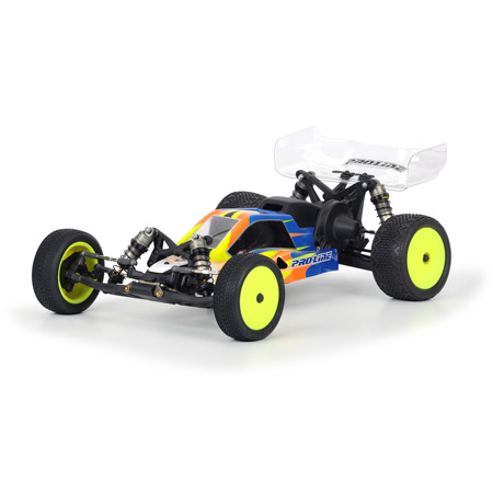 Proline 3359-00 - Bulldog Mid Configuration Clear Body for TLR22