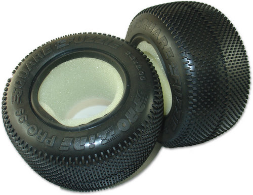 Proline 8099M2 -  2.2 Square Fuzzie, Truck Tire, M2 Compound