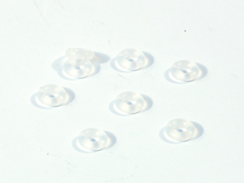 HPI 6820 - Silicone O-Ring P-3 Clear 8pcs (R10)