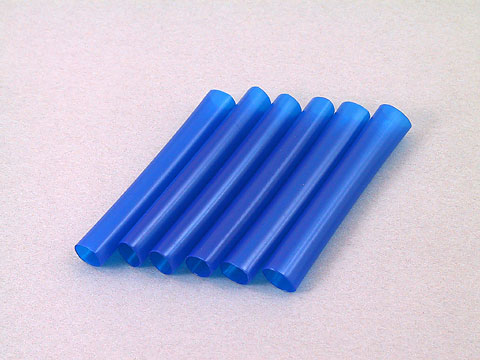 Kose K-9051 - 6x50mm Shrink Tube 6pcs Blue