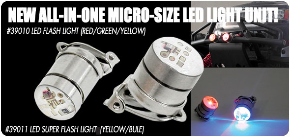 HPI 39010 - LED Flash Light (Red, Green & Yellow)