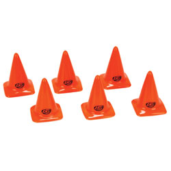 Losi LOSB1107 - Course / Track Cones, Orange 2.75
