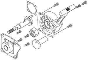 OS 21322000 - Recoil Starting Conversion Unit (CZ-R, CZ-11, CZ-M, CZ-12Z)