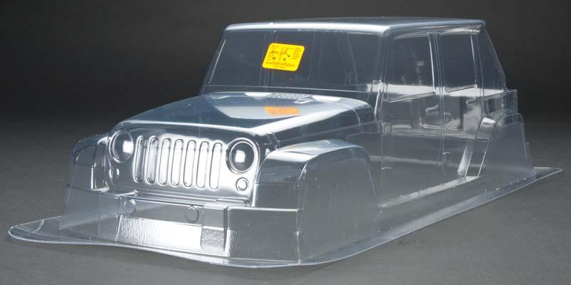Hpi 104632 Jeep Wrangler Rubicon Clear Body Savage Xl