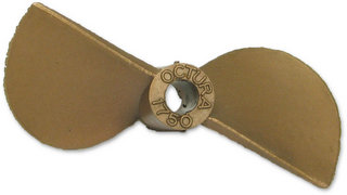 Octura 1750 - Berylium Copper Propeller 3/16inch Shaft / Pitch 1.7 / Dia. 50mm