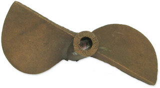 Octura 1760 - Berylium Copper Propeller 3/16inch Left Hand
