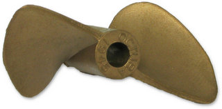 Octura 1945 - Berylium Copper Propeller Pitch-1.9 Dia.-45mm