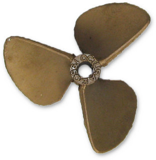 Octura 1950/3 - Berylium Copper 3-Blade Propeller / Pitch-1.9 / Dia.-50mm (1.97 inches)