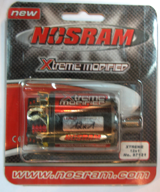 Nosram 97121 - Xtreme Modified Motor 12x1