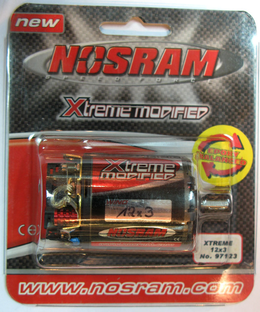 Nosram 97123 - Xtreme Modified Motor 12x3