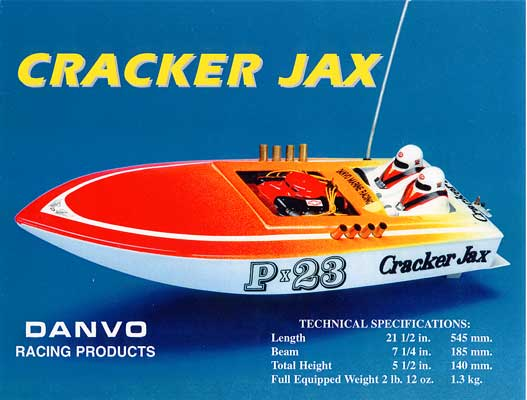 Danvo CJ-03 - Cracker Jax (Racing Boat)