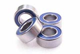 Team Magic 150510 - 5x10x4mm Dust-Resistant Bearing (4)