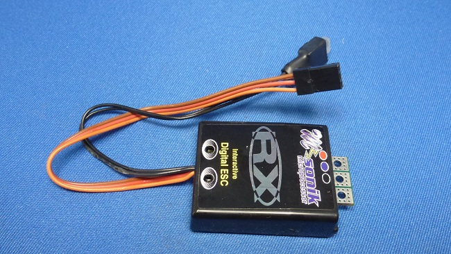 M.troniks Sonik RX  - Pro ESC, Digital 1-Touch, No Limit