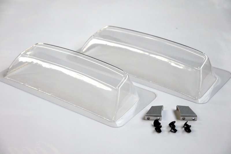 Speed Way Pal PA102 - Rear Wing Set 155,165mm with mount