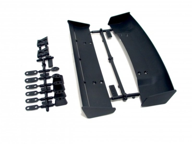 HPI 85197 - Molded Wing Set (Type A & B, 1-10 Scale, Black)