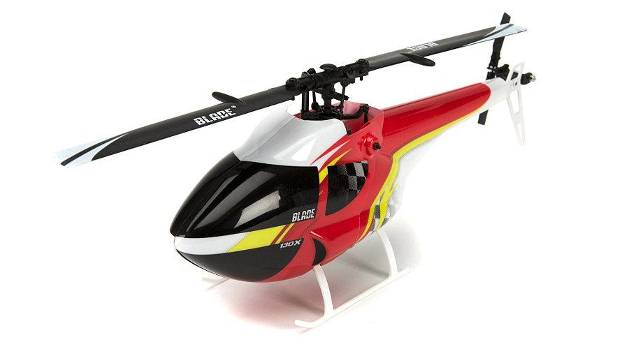 Blade BLH 3739 - FAI Canopy - Red / Black / Yellow (130 X)