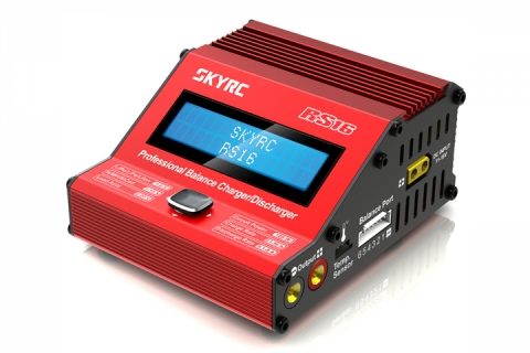 SkyRC 100078 - SkyRc RS16 180W / 16A Balance Charger / Discharger