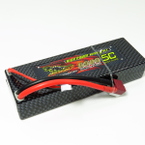 Dinogy 2S-6500-65C-T - 7.4V 6500mAh 65C Lipo Pack T-Plug