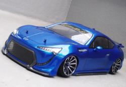 D-Like DL092 -190mm Toyota FT86II Concept Body